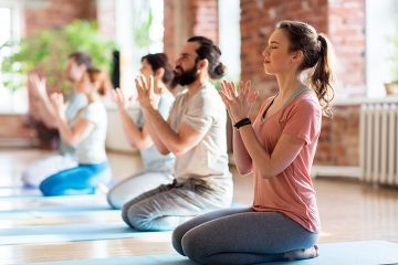 yoga class at yoga retreats